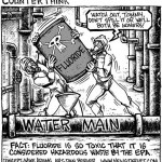 States that MANDATE fluoride be added to your tap water!