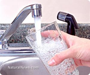 Tap-Water-Fluoride-Glass-Kitchen-Sink
