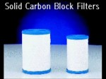 Sponsors of study advocate use of solid carbon block filters to limit exposure to breast cancer chemicals.