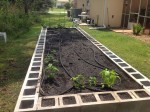 How To Build A 4 x 16 ft Cinder Block Raised Bed Garden